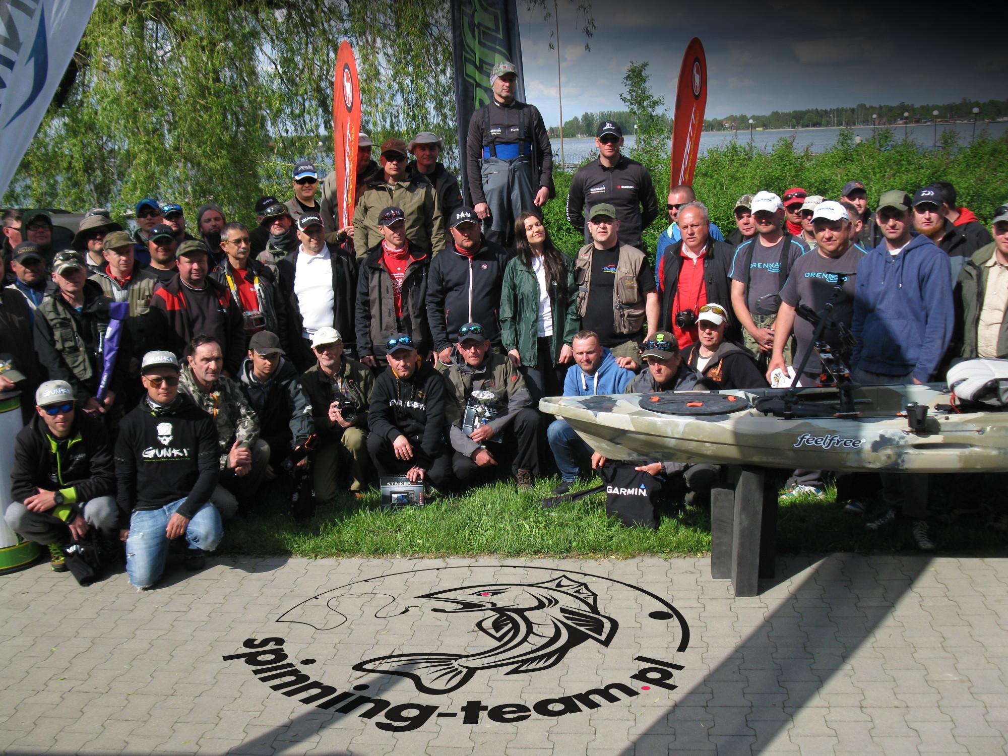 Zawody TOP FISHING ELIZÓWKA 2016 jezioro Firlej