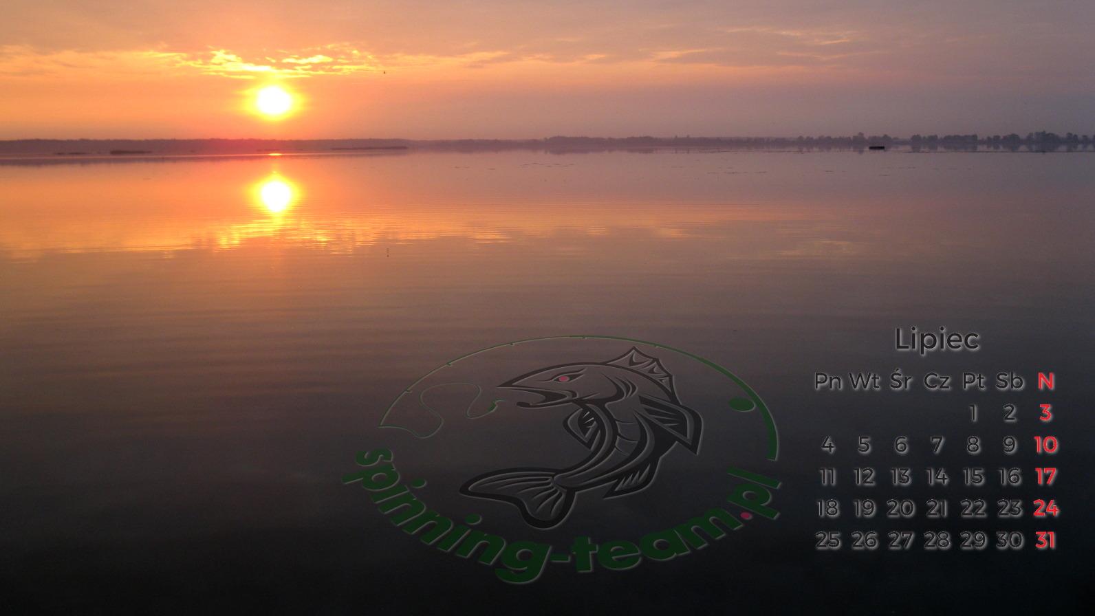 Tapeta Wędkarska LIPIEC 2016