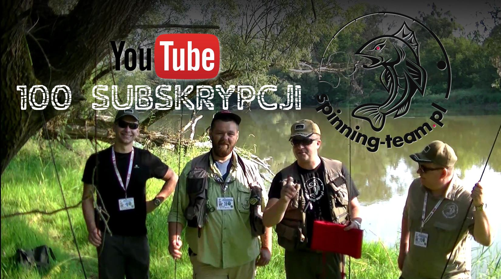 100 Subskrypcji naszego kanału na YouTube – nagroda dla szczęśliwca