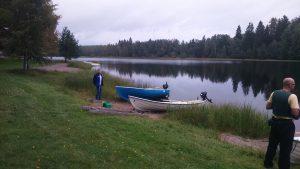 sprzed wedkarski lodki Finlandia