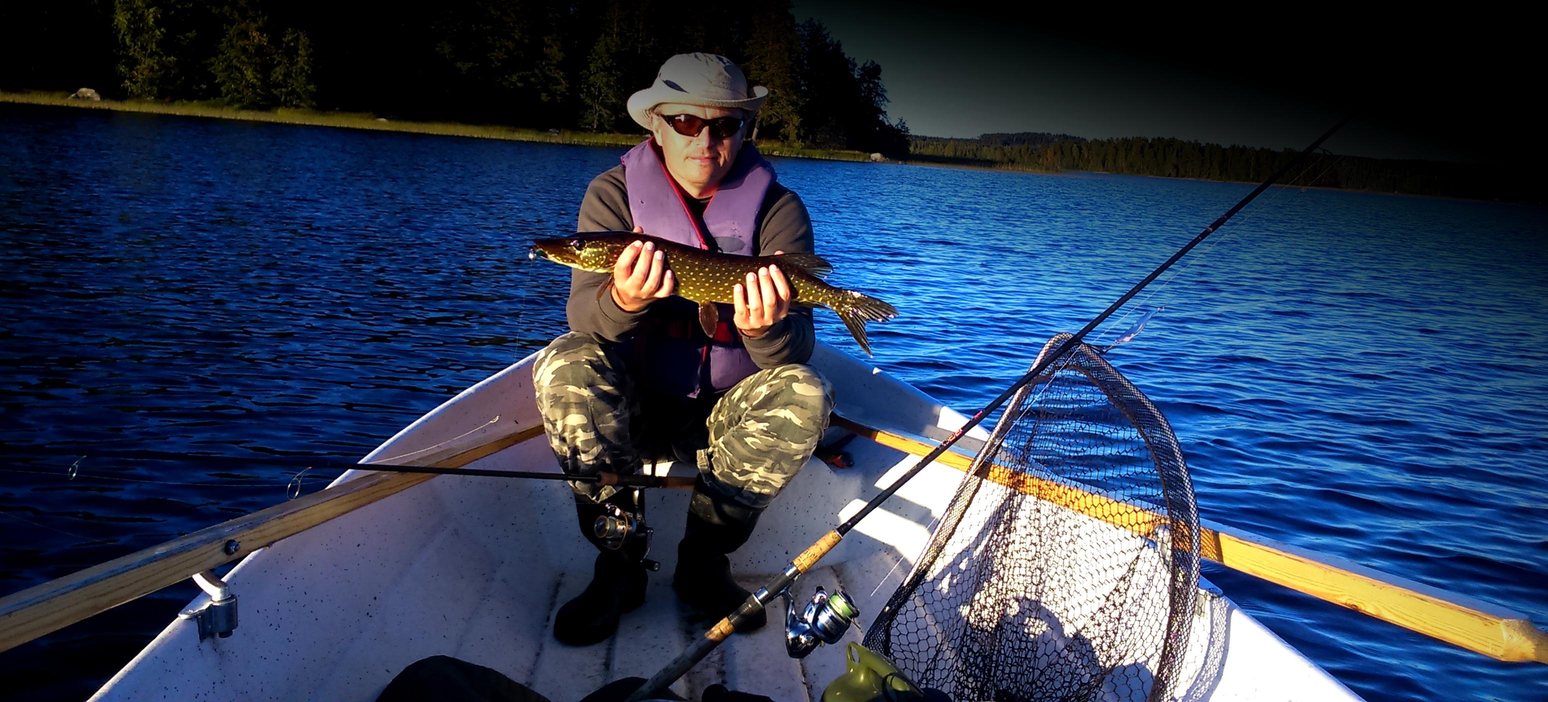 Wyprawa wędkarska do Finlandii jezioro Rouvesi